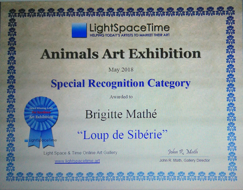 Brigitte Mathé (MBL) - Animals Art Competition Special recognition
