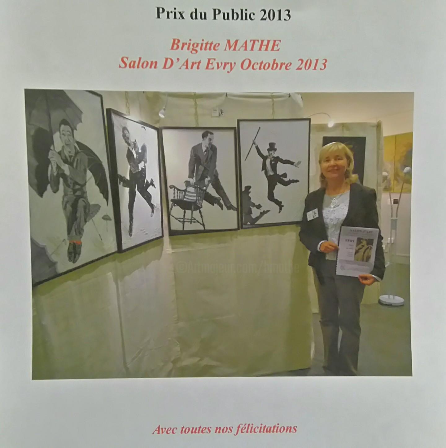 Brigitte Mathé (MBL) - Prix du Public Peinture
