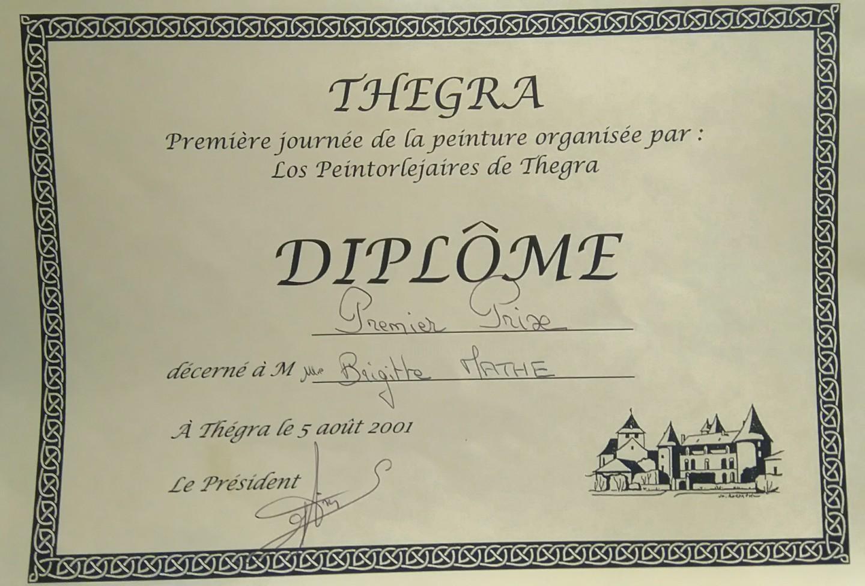 Brigitte Mathé (MBL) - 1er Prix d'Aquarelle