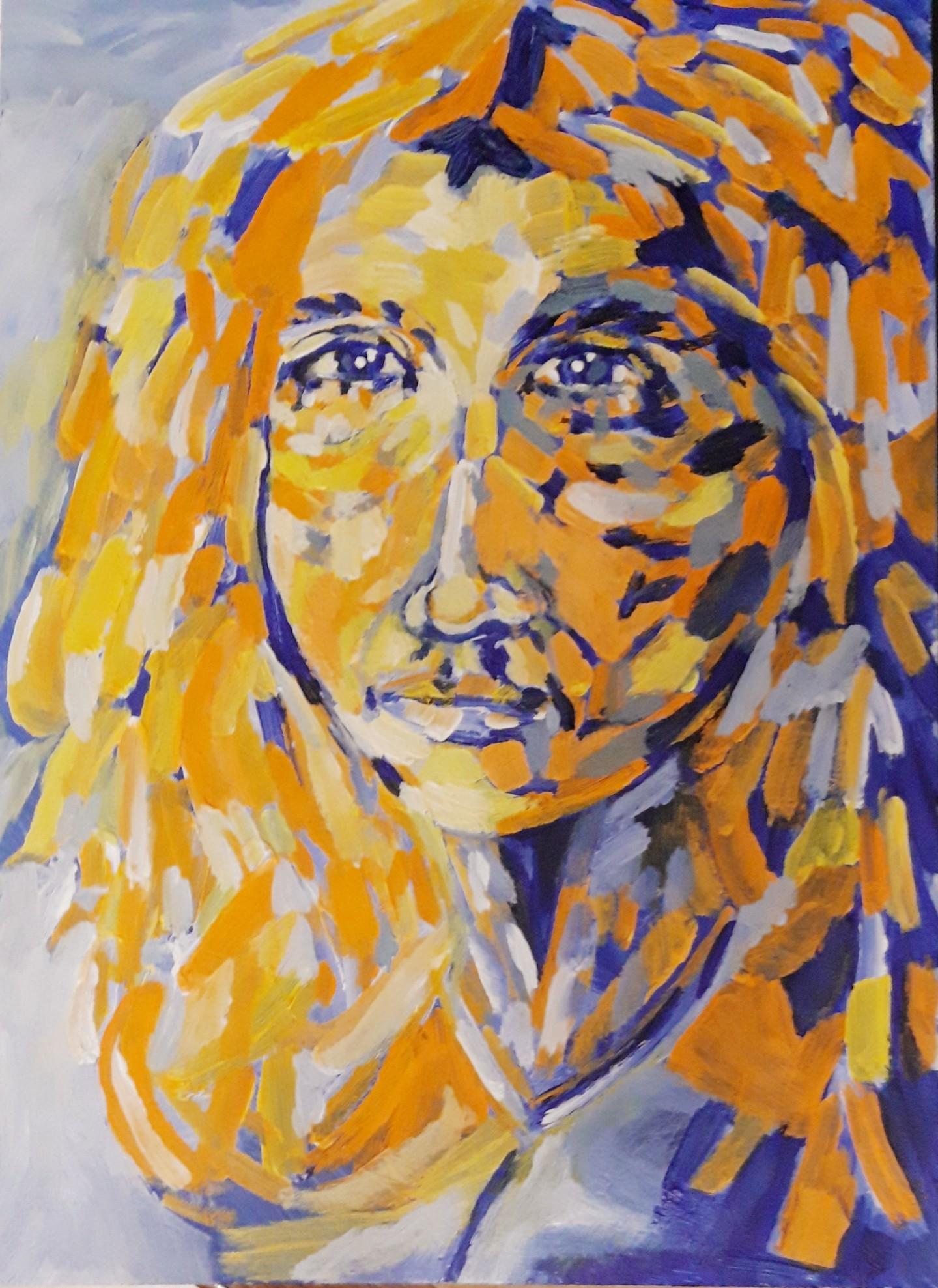 Brigitte Mathé (MBL) - Portrait imaginaire 2
