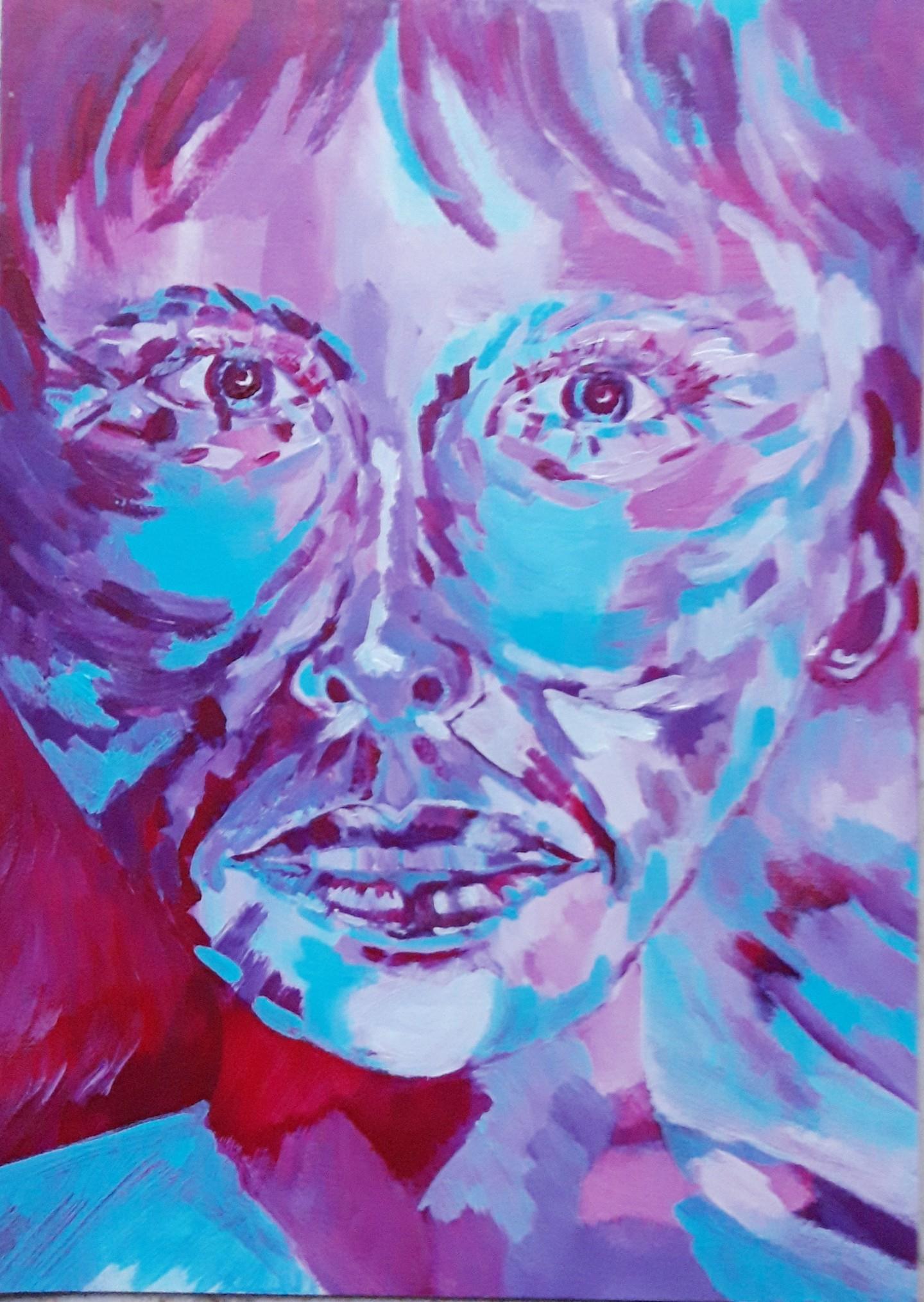 Brigitte Mathé (MBL) - Portrait imaginaire 3
