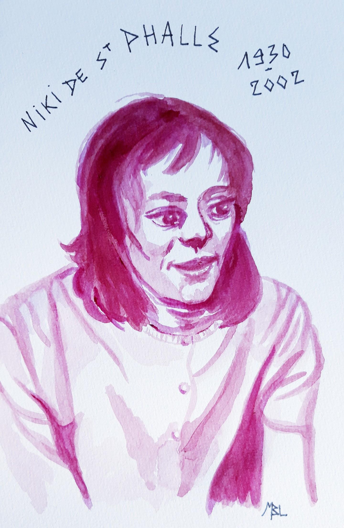Brigitte Mathé (MBL) - Niki de St Phalle