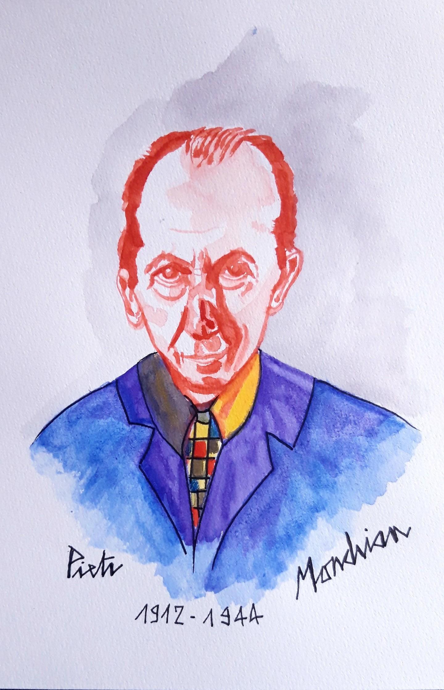 Brigitte Mathé (MBL) - Mondrian