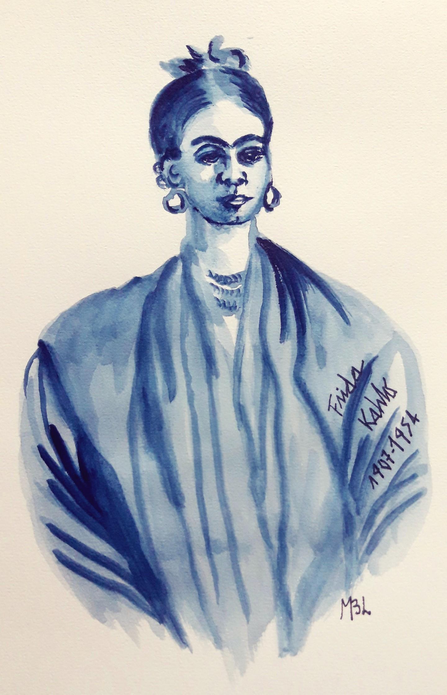Brigitte Mathé (MBL) - Frida Kahlo