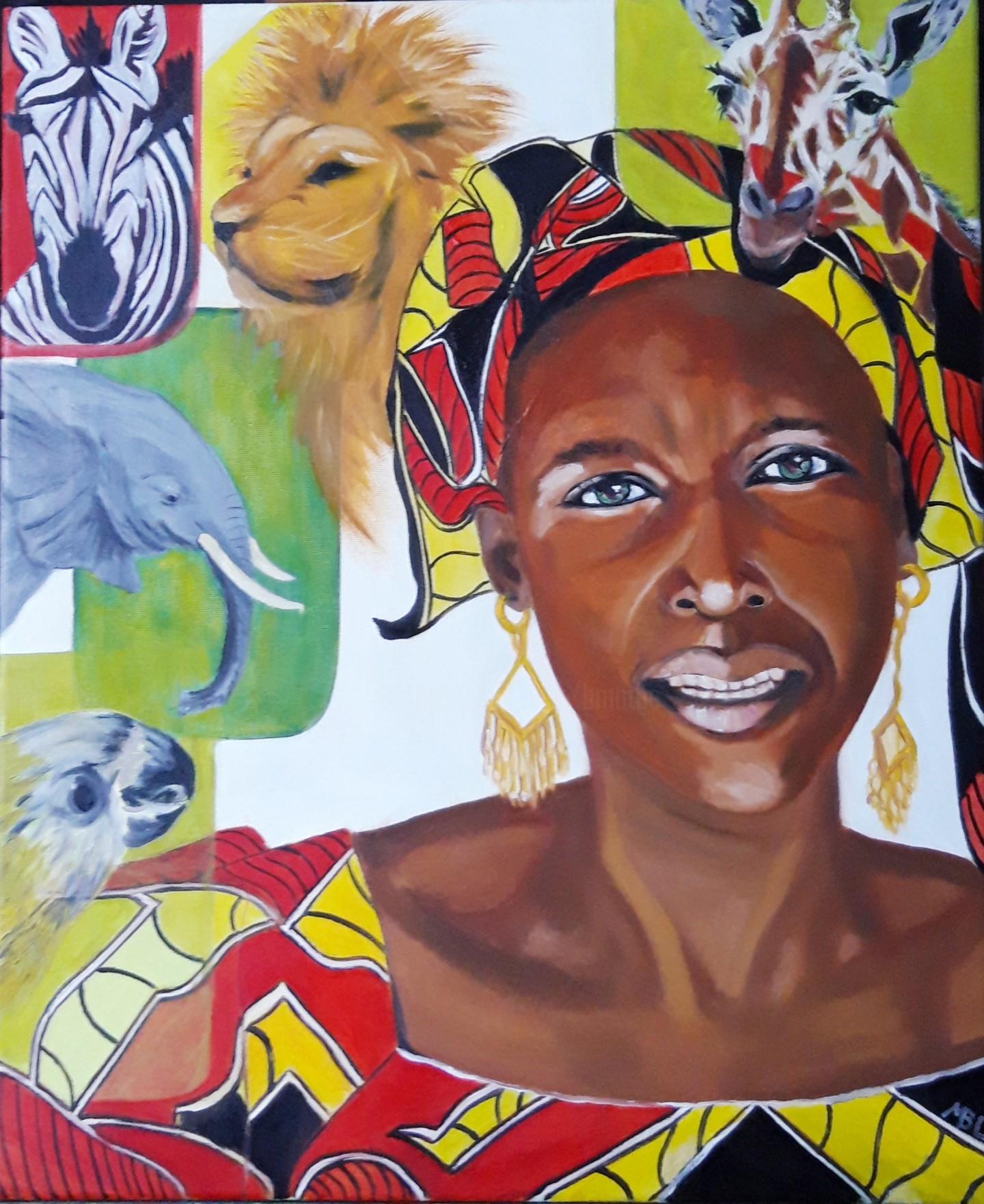Brigitte Mathé (MBL) - Sénégalaise