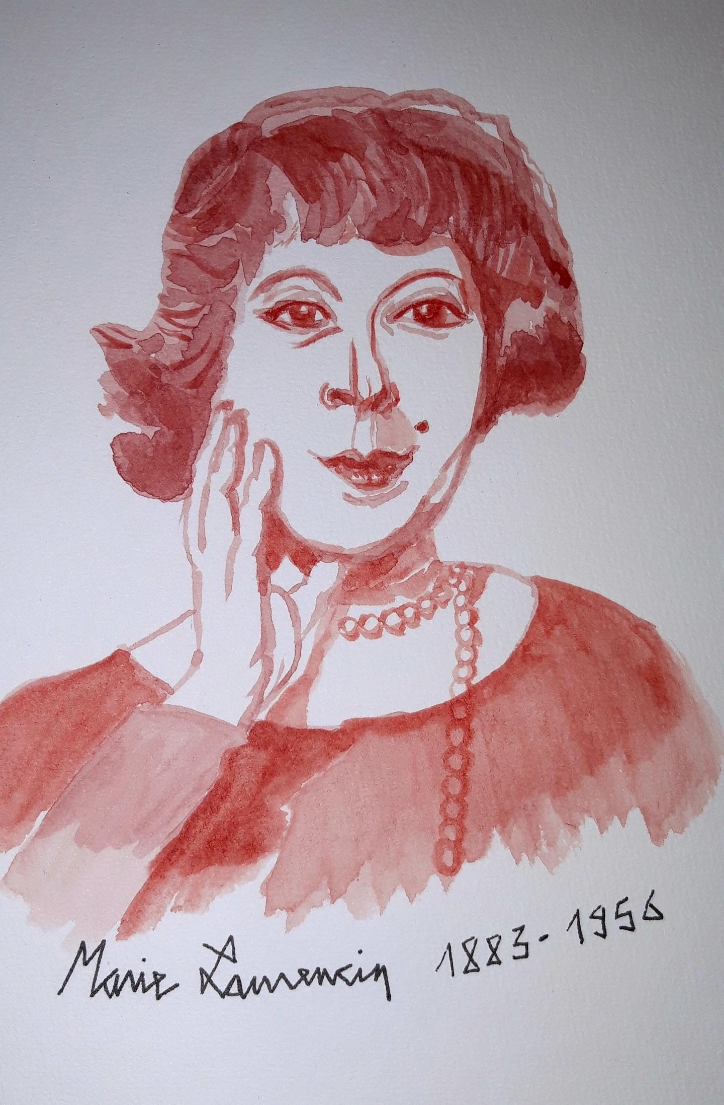 Brigitte Mathé (MBL) - Marie Laurencin