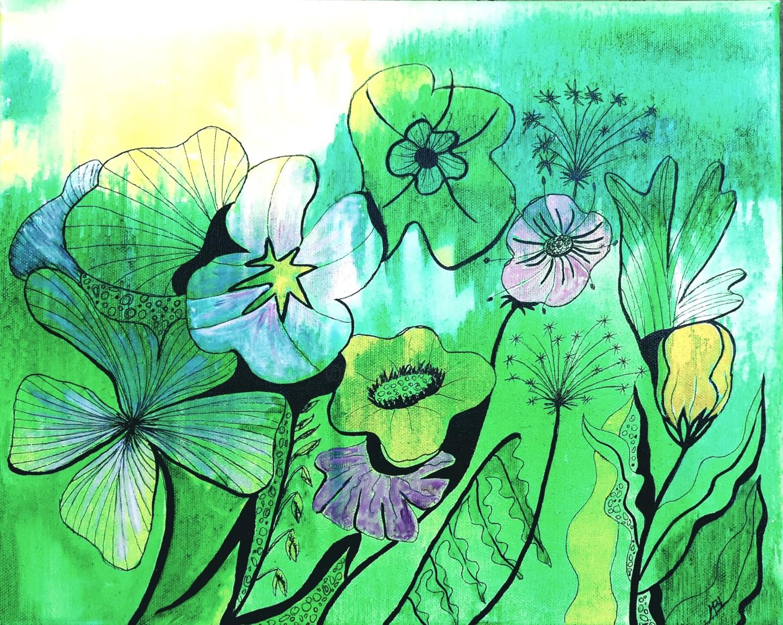 Brigitte Mathé (MBL) - Flowers 3