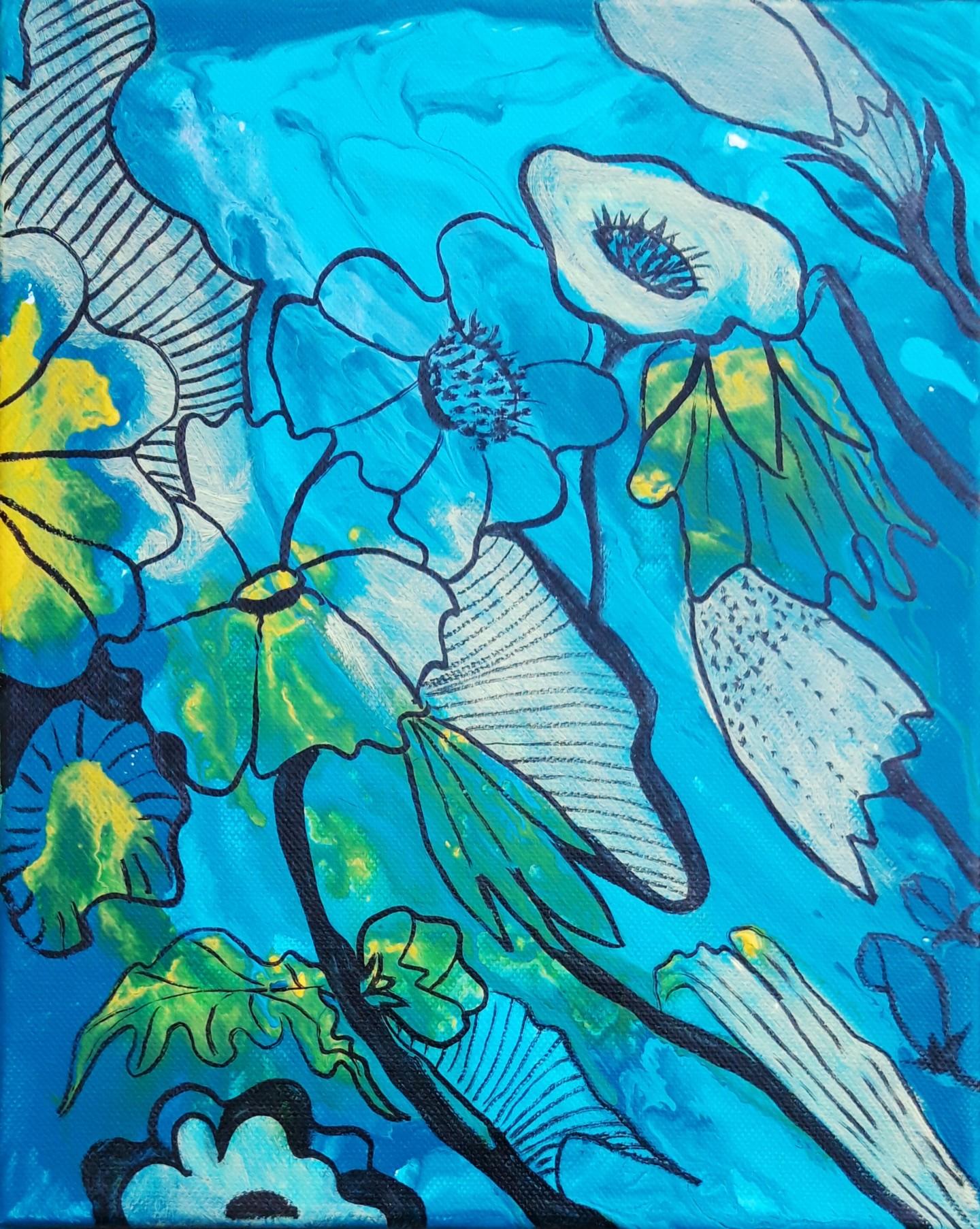 Brigitte Mathé (MBL) - Flowers 4