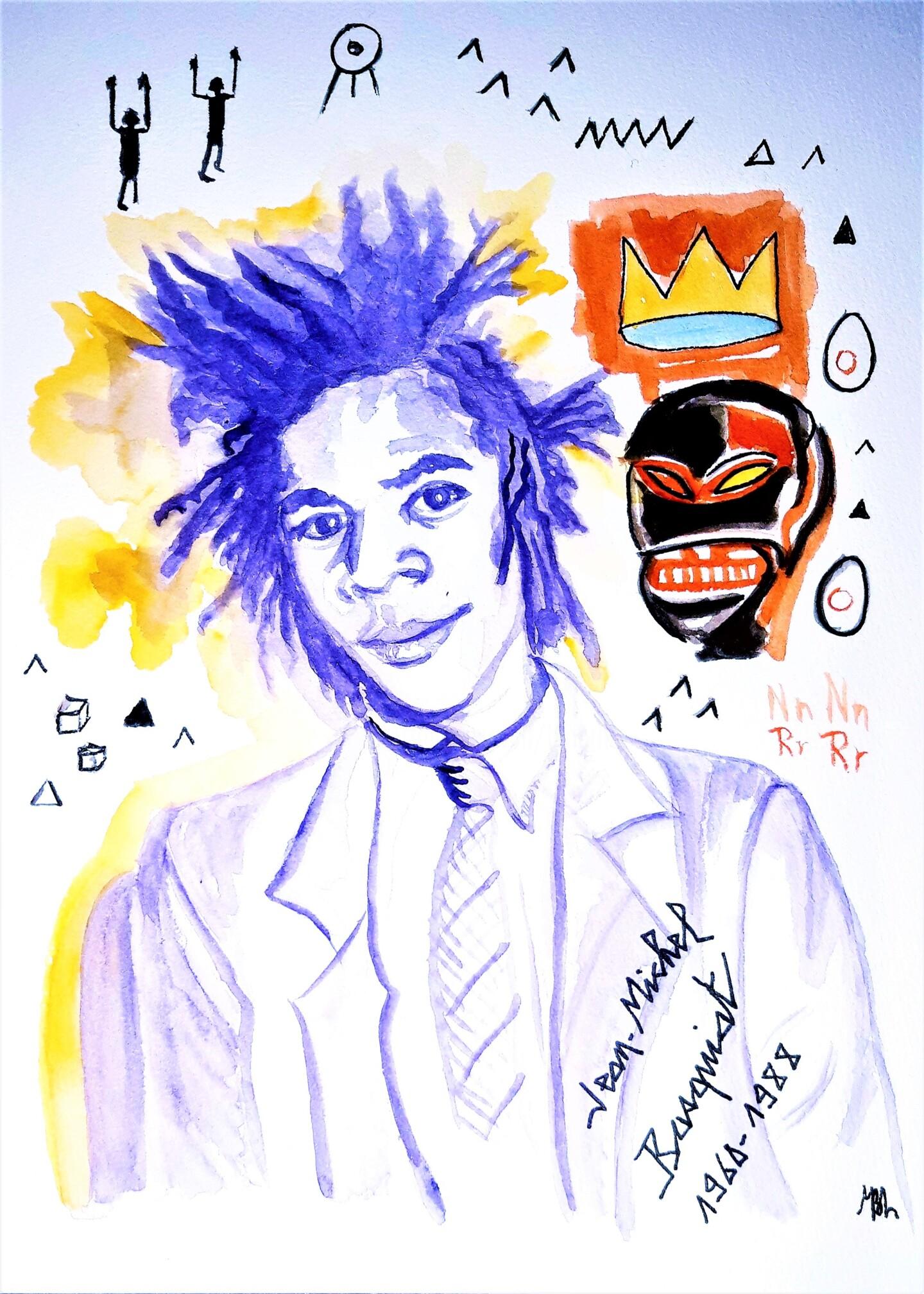 Brigitte Mathé (MBL) - Basquiat