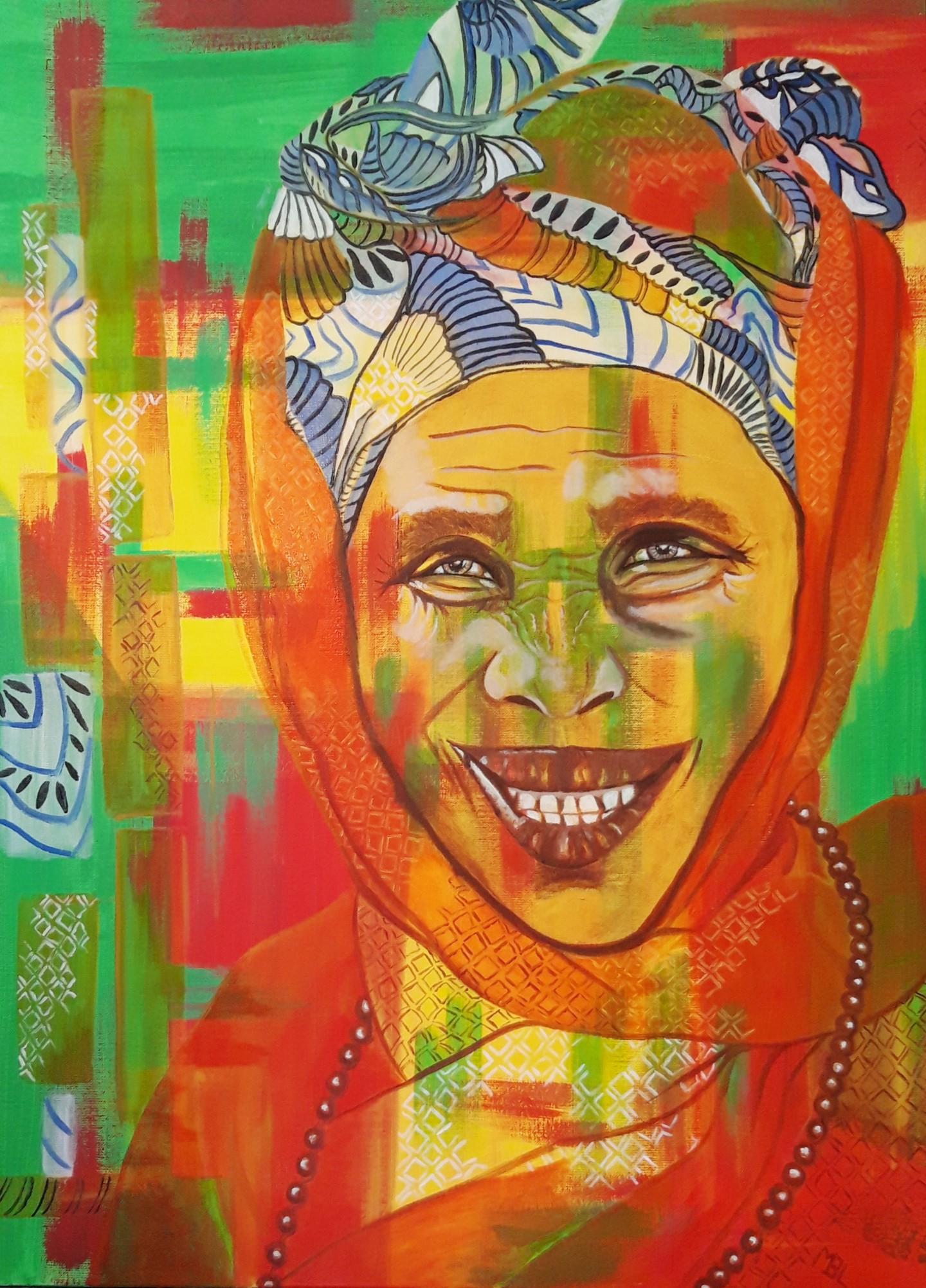Brigitte Mathé (MBL) - Sénégalaise Mbour