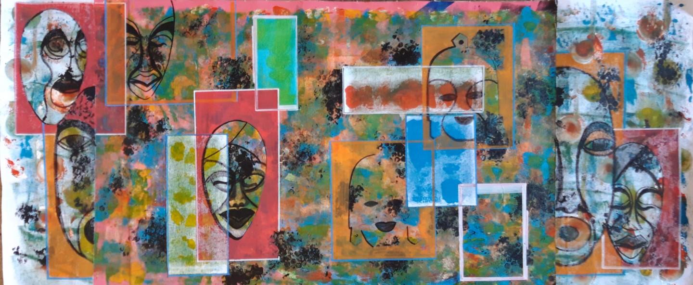 Brigitte Mathé (MBL) - Masques Africains 2