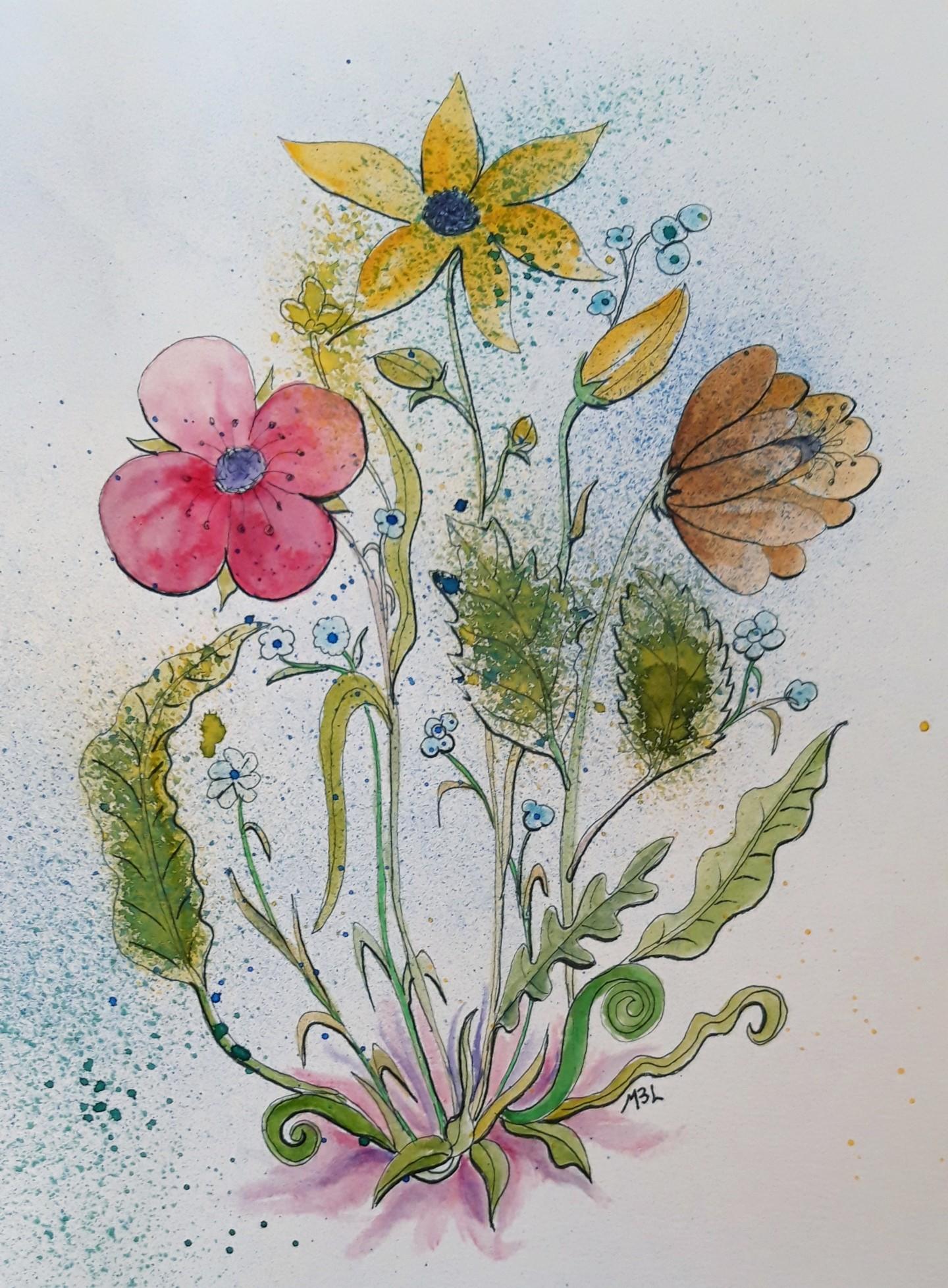 Brigitte Mathé (MBL) - C'est le printemps 1