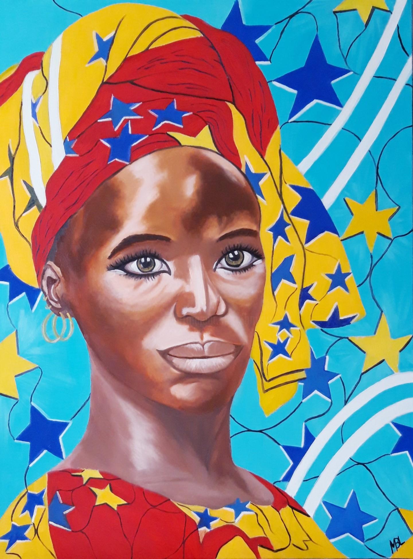 Brigitte Mathé (MBL) - East African woman