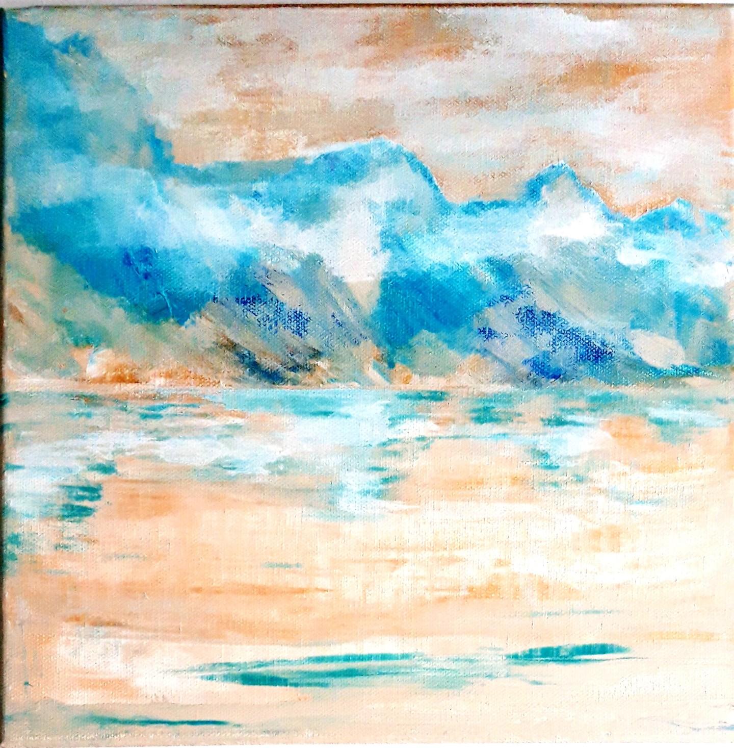 Brigitte Mathé (MBL) - Brume sur le lac