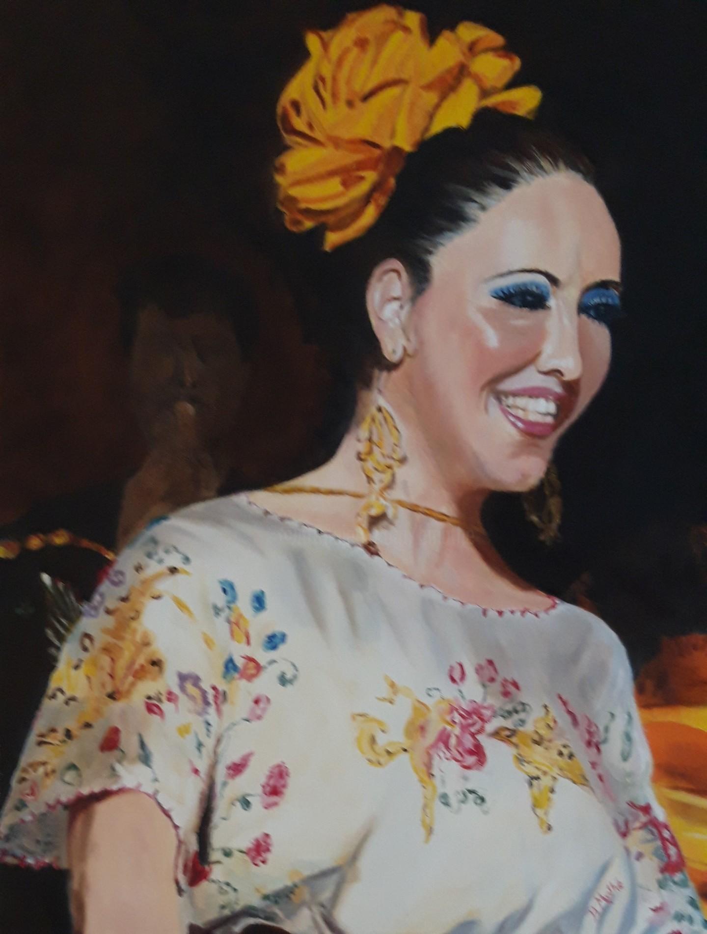 Brigitte Mathé (MBL) - Danseuse Mexicaine