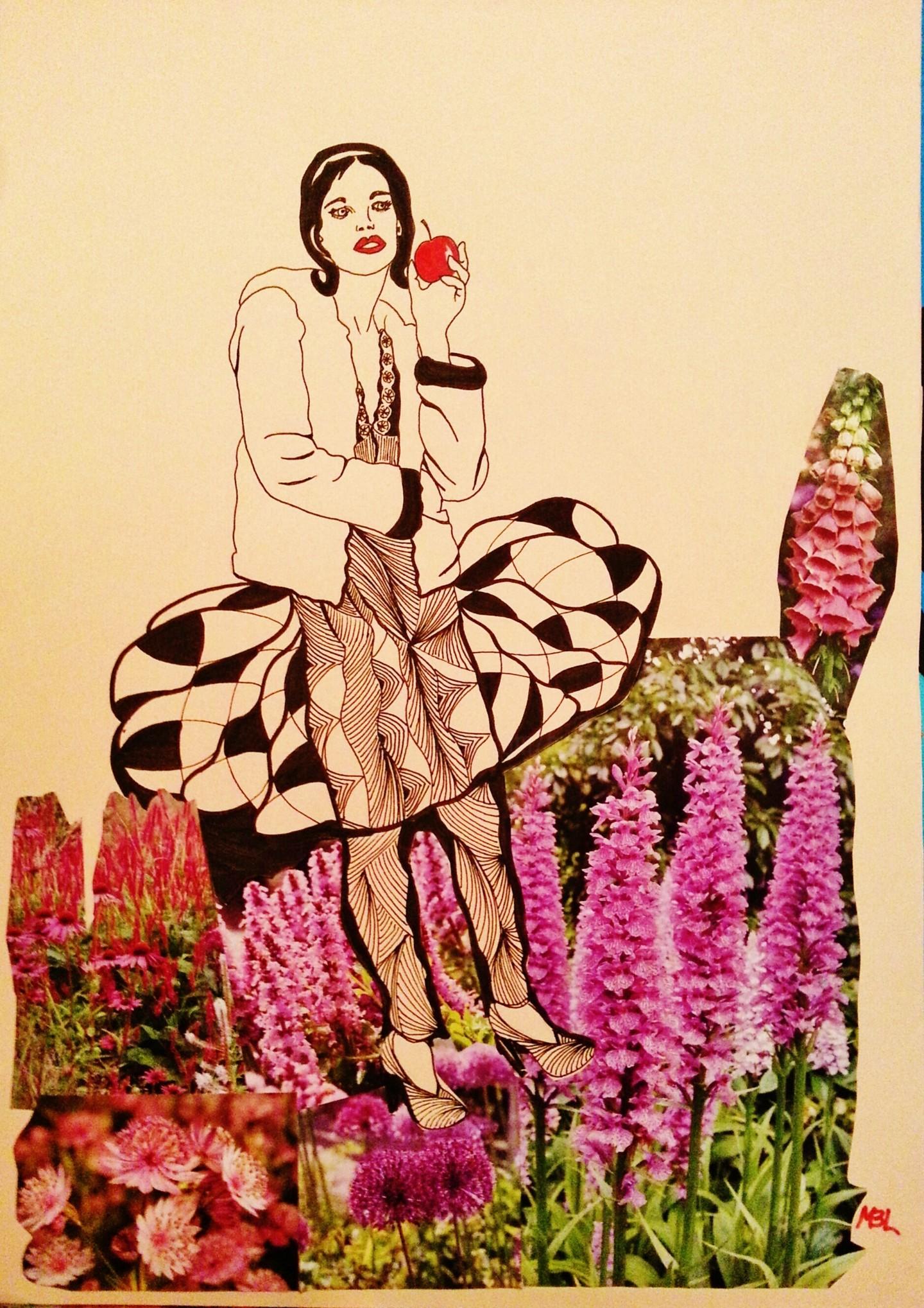 Brigitte Mathé (MBL) - Au jardin d'Eden