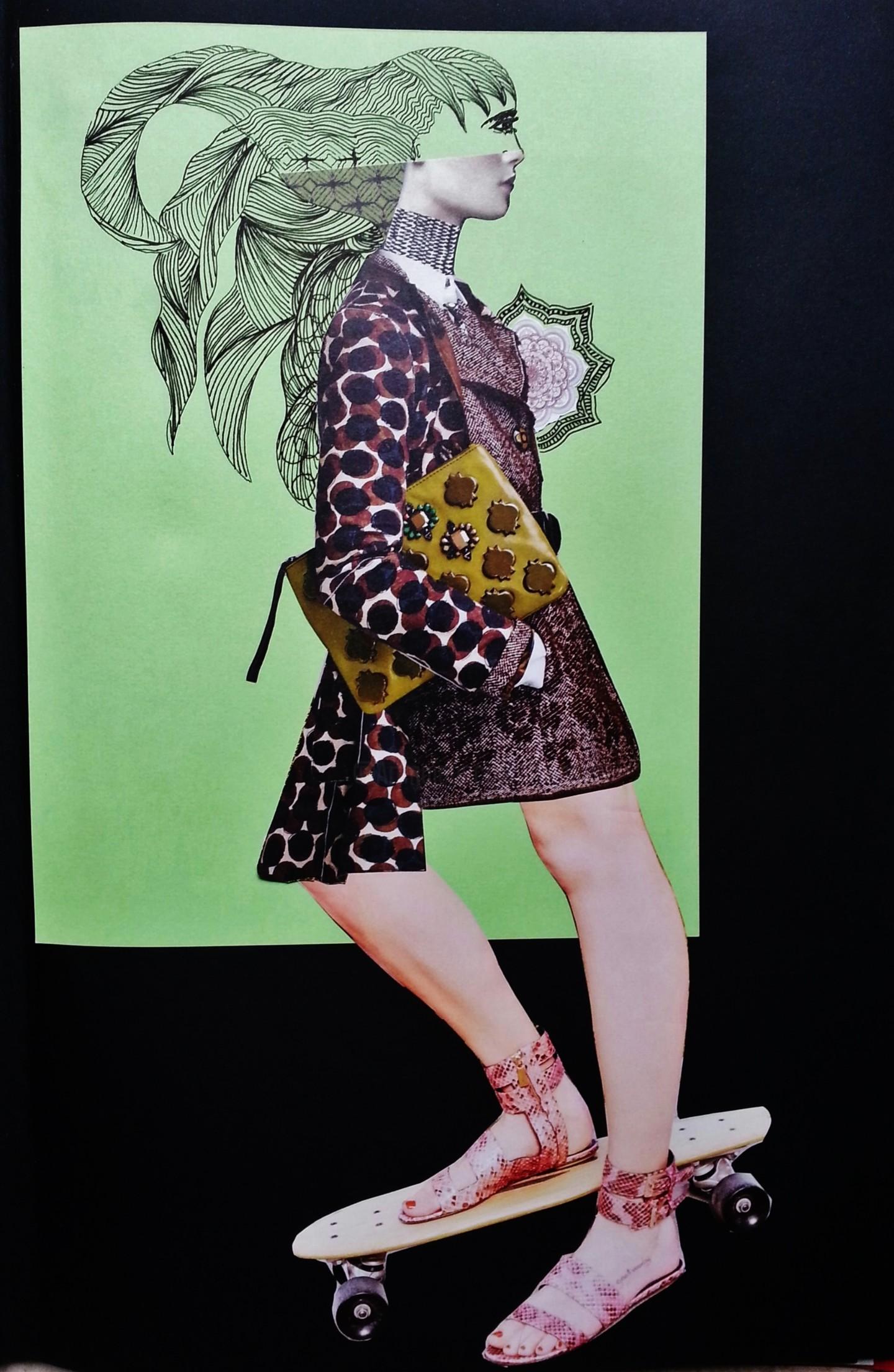 Brigitte Mathé (MBL) - Rolling Woman