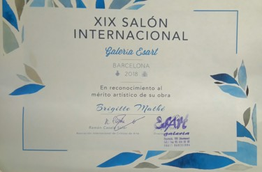 1er prix XIXème salon international Barcelone