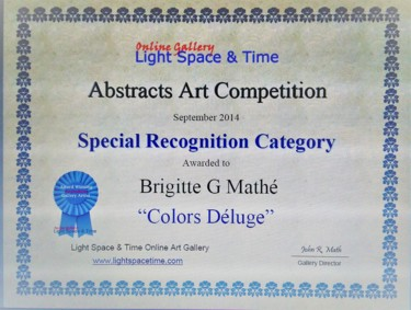 Abstract Art Competition Special Recognition