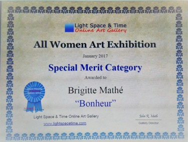 All women Art Competition Special Merit