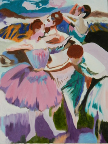 Danseuses (copie oeuvre de Degas)