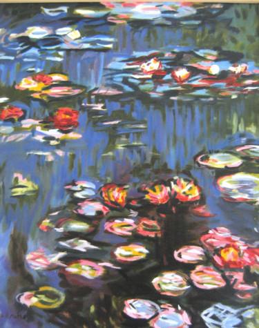 Nymphéas (d'après Monet)