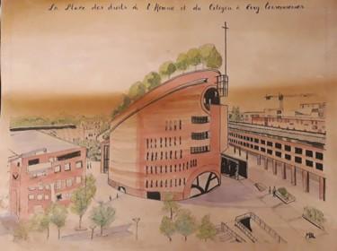 Place des Droits de l'Homme Evry-Courcouronnes