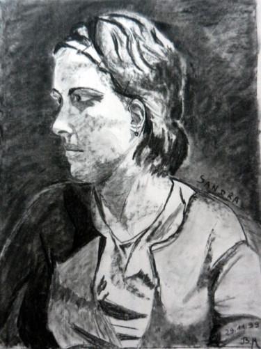 """Sandra, profil gauche """"série Modèle"""""""