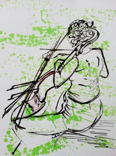 """Nathalie au violoncelle """"série Modèle"""""""