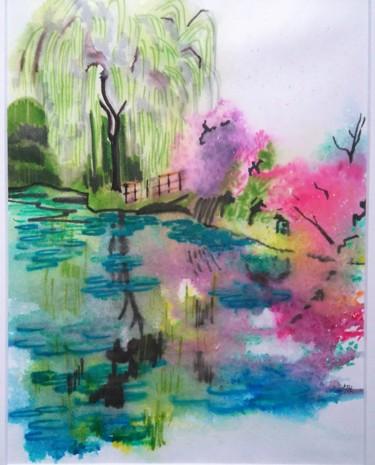 L'étang de Monet à l'automne 2