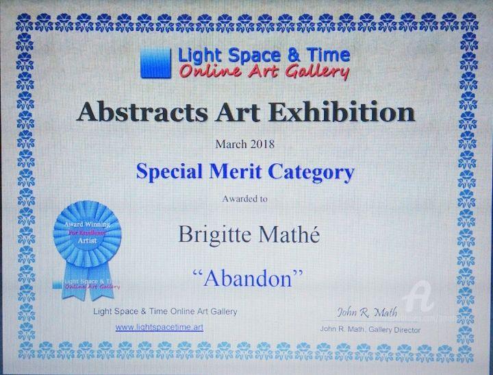 Brigitte Mathé (MBL) - Prix LS&T online gallery