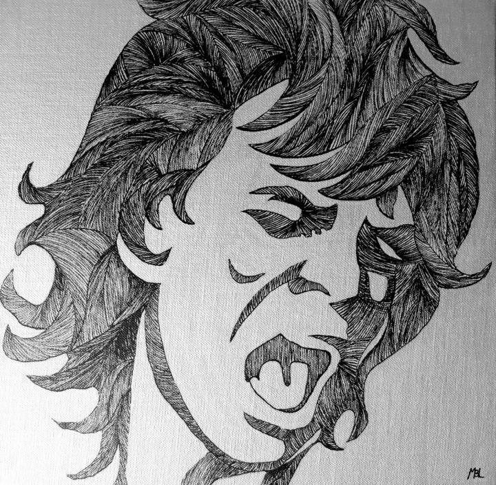 MBL Brigitte Mathé - Mick Jagger
