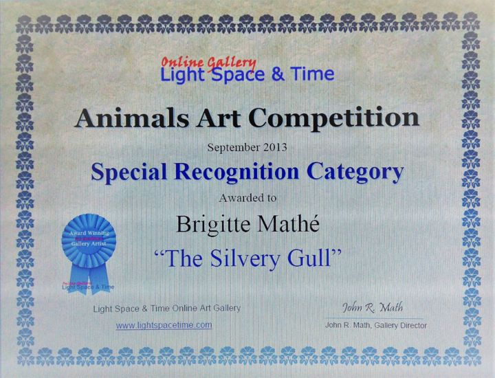 Brigitte Mathé - Animals Art Competition Special recognition
