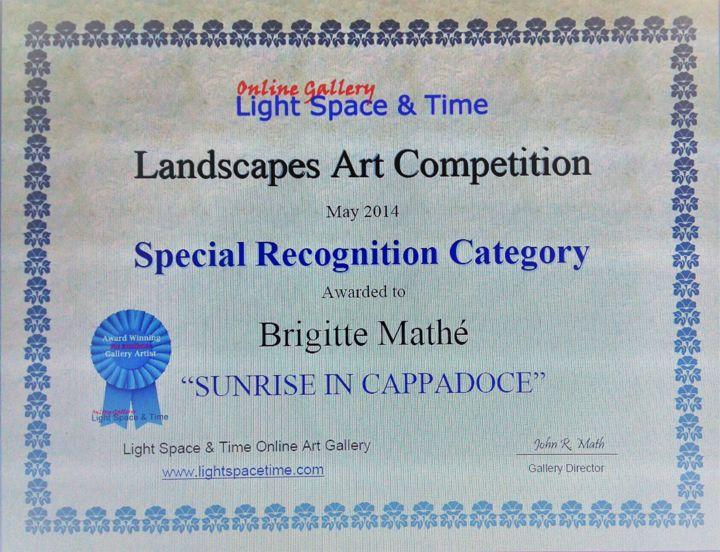 MBL - Landscapes Art Competition Special Recognition