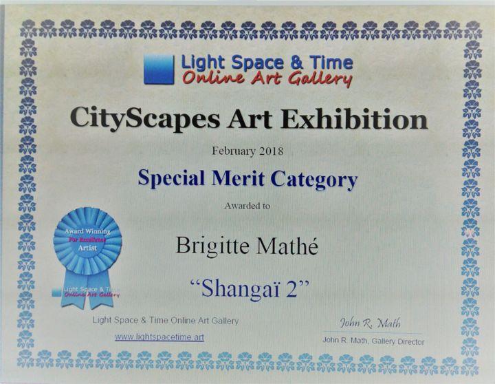MBL Brigitte Mathé - Cityscapes Art Competition Special Merit