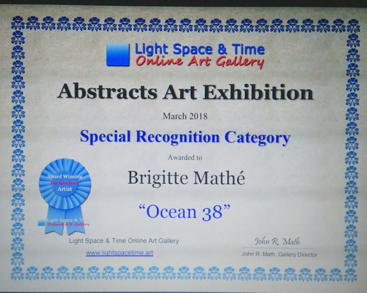 MBL Brigitte Mathé - Abstracts Art Competition Special Recognition
