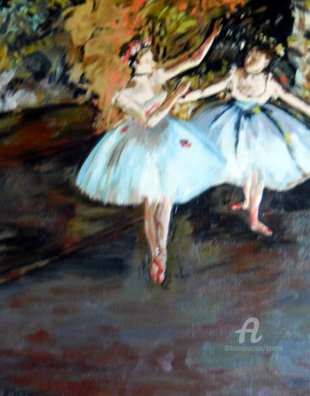MBL - Deux danseuses, d'après Degas